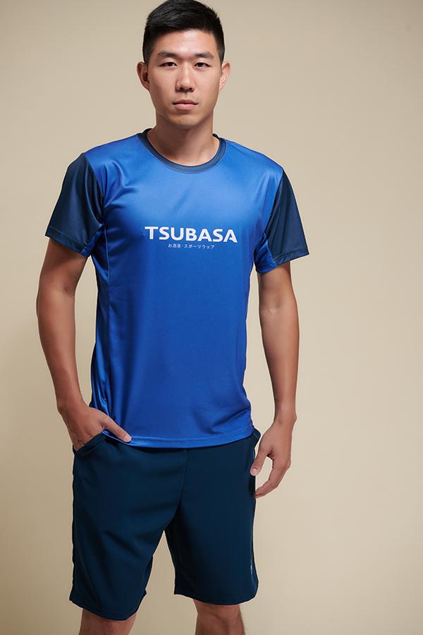 ASA午夜寶石藍<br>透氣機能運動衫<br>男款 1