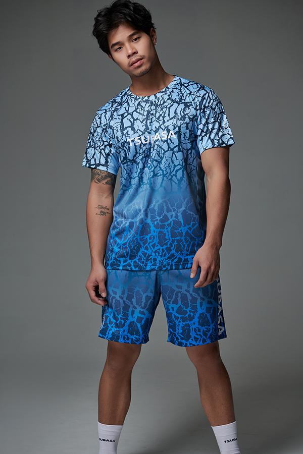 ASA 銀河爆裂紋 <br>透氣機能運動衫<br>男款 1
